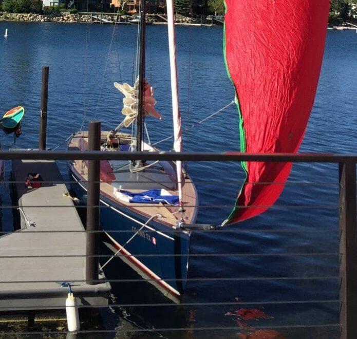 Tofinou docked